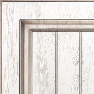 Кухни Мария, Модель Daniela, Цвет фасада Белый дуб с черной патиной