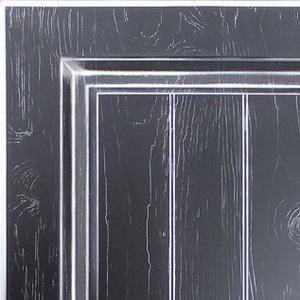 Кухни Мария, Модель Daniela, Цвет фасада Черный дуб с серебряной патиной