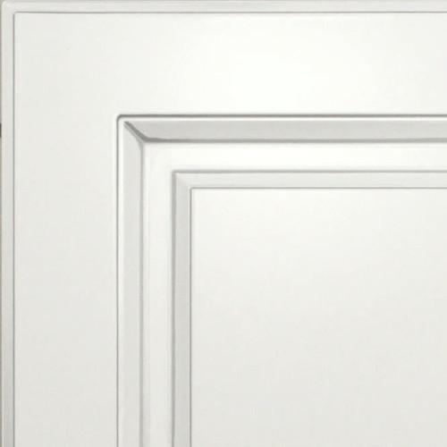 Кухни Мария, Модель Nicolle, Цвет фасада Белый с серебряной патиной