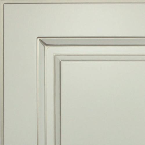 Кухни Мария, Модель Nicolle, Цвет фасада Белый с патиной шампань